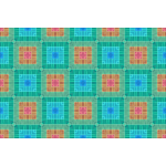 Background pattern with seamless squares