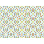 Hexagonal pattern in color