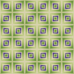 Background pattern in green and violet
