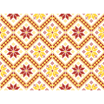 Background pattern in retro style