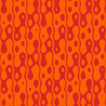 Background wallpaper in orange