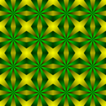 Background pattern with green details