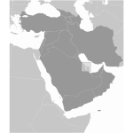 Bahrain's map image