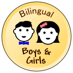 Bilingual Boys and Girls logo