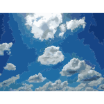 Blue Sky Big Clouds 2015081223
