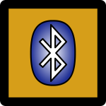 Bluetooth Icon Umber