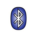 Bluetooth Icon blue