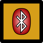 Bluetooth Off Icon Umber