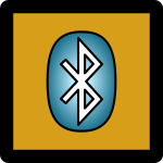 Bluetooth On Icon Umber