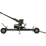Fourthy mm artillery