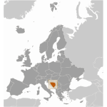 Bosnia and Herzegovina location
