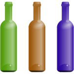 Bottles In Various Colors