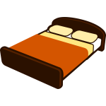Brown bed
