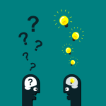 Ideas & questions in heads