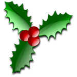 Christmas flower decoration