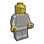 Vector graphics of Lego boy