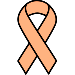 Uterine cancer ribbon