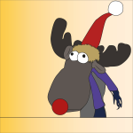 Cartoon Reindeer