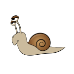 Snail Cartoon Art