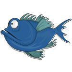 Cartoon Fish 2