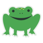 Cartoony Frog