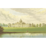 Castle Howard vector illustration
