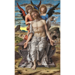 Christ as the Suffering Redeemer by Andrea Mantegna