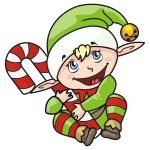Christmas Elf illustration