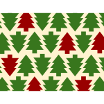 Christmas season tree background vector illustration
