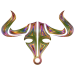 Chromatic Bull Icon No Background