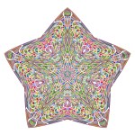 Chromatic Psychedelic Star