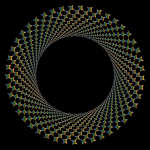 Chromatic Shutter Vortex