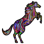 Chromatic Stylized Horse 2