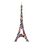 Chromatic Triangular Eiffel Tower