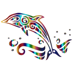 Chromatic Tribal Dolphin 3 No Background