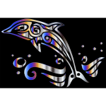 Chromatic Tribal Dolphin 4
