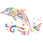 Chromatic Tribal Dolphin 6 No Background