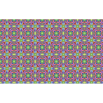 Chromatic colorful widescreen pattern