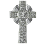 Chrome Celtic Cross