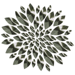 Chrome Flower Petals 2
