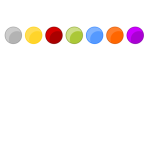 Colorful Circle Icon Backgrounds