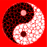 Yin Yang With Background