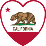 Vector image of element from flag of California