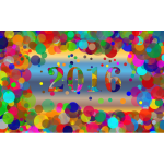 Colorful 2016 Wallpaper