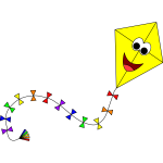 Colorful Anthropomorphic Kite 3