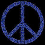 Colorful Circles Peace Sign 21
