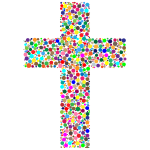 Colorful Cross Circles