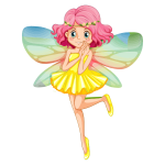 Colorful fairy