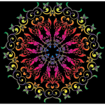 Colorful Floral Design 7