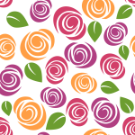 Colorful Floral Pattern Background 8